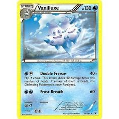 vanilluxe noble victories pokemon card - Google Search