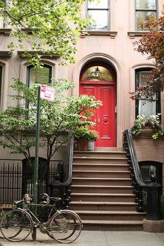 West Village, NYC. West 4th street