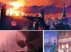 More Pixar concept art