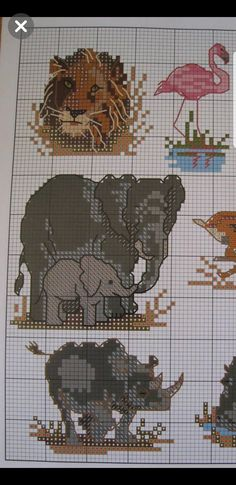 Cross Stitching, Cross Stitch Patterns, Couture, Embroidery, Crafts, Bears, Owl Bird, Cross Stitch Embroidery, Log Projects
