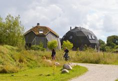 Prefab Geodesic Dome Home: Modern Prefab Modular Homes - Prefabium Prefab Modular Homes, Spitzer Space Telescope, Geodesic Dome Homes, Cape Cod Style House, Dome House, Earth Homes, Denmark, Images, House Design