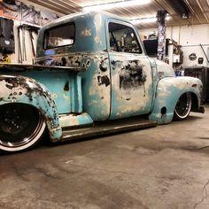 patina chevy truck