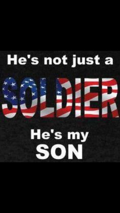 Yes he is!#Army mom