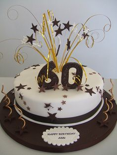 50th Birthday Cake Ideas Black Silver And Gold 50th