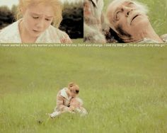 Anne Of Green Gables...This is the saddest scene of any movie I've ever watched. I think...because we all loved Matthew so much.