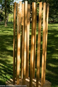 Song by John Moloney: Sculpture In Context 2012 at the National Botanic Gardens
