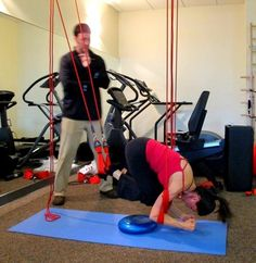 Multi suspension training with Tyler