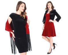 This fall wear velvet! YOKKO   fall16  #velvet #red #black #fall16 #evening #day #yokkothefashionstore #women #style #fashion Red Black, Style Fashion, Velvet, Magic, Slim, Elegant, Fall, Jackets, How To Wear