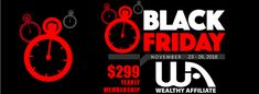 Take Advantage of The Wealthy Affiliate Black Friday Special Here TODAY! Pet Sitting Services, Starting Your Own Business, Extra Money, Affiliate Marketing, Internet Marketing, Growing Up, Black Friday, Online Business, How To Find Out