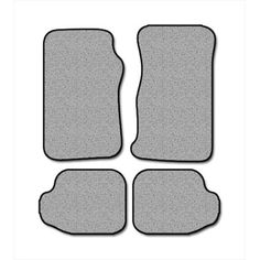 Averys Floor Mats 1060-701 Custom-Fit Nylon Carpeted Floor Mats For 1989-1991 Suzuki Sidekick, Black, 4 Piece Set (Pack of 4)