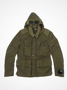 2012.04.20. Today's pick: The Goggle jacket!     Design, function, fabric. Probably the most iconic C.P. Company item.