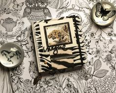 Striped notebook by Maria Lillepruun