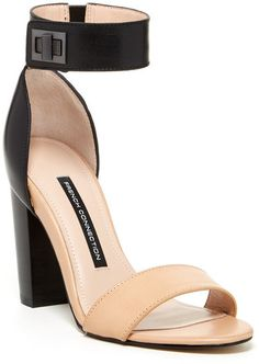 French Connection Katrin High Heeled Sandal on shopstyle.com