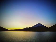 2018.02.12 #富士山 #本栖湖