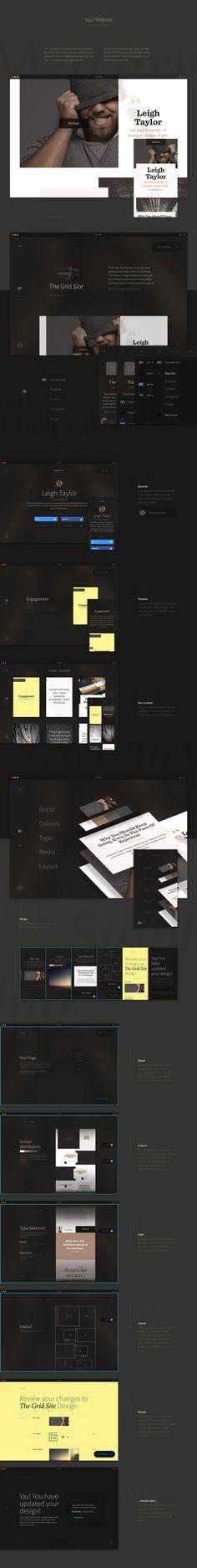 The Grid: Platform - UX/UI | Abduzeedo Design Inspiration