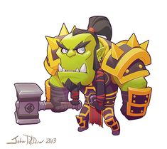 Cute but Deadly THRALL by NorseChowder.deviantart.com on @DeviantArt ★ Find more at http://www.pinterest.com/competing