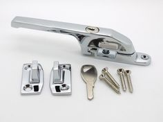 Timber Wooden Locking Casement Window Handle Chrome Basta - Shaw Replacement in Home, Furniture & DIY,Security & Home Automation,Locks   eBay Window Handles, Casement Windows, Home Automation, Locks, Chrome, Drink, Ebay, Furniture, Food