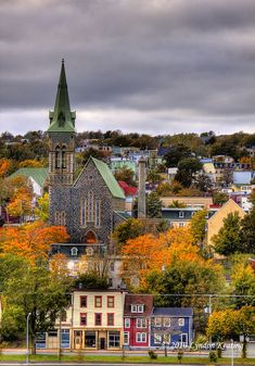 St. Patrick's Church in the fall , St. John's , Newfoundland | Flickr - Photo Sharing!