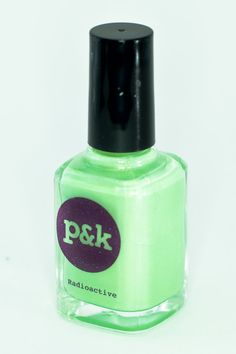 Radioactive - Green Nail Polish by PamsAndKin