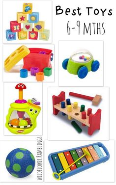 Best baby toys (6 to 9 months