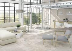 ARCANA Tiles | Tortona Gris 60x60 cm. / Savona 60x60 cm. / Cardona Gris 33x100 cm. | open concept | living room | interior design | architecture | new areas