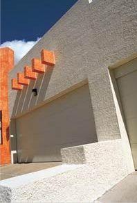 fachada de importante edificio diseada y colocada por el equipo de procovers http