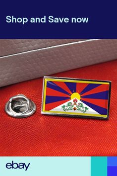 45d0c6b08e76 Tibet Flag Lapel Pin BadgeTie Pin Flag Lapel Pins, Tie Pin, Pin Badges,