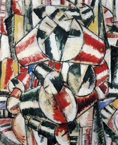 Contrast of form by @artistleger #arthistory #leger