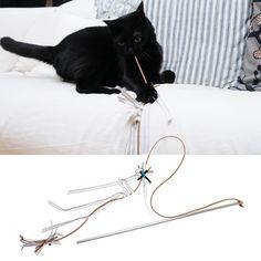 . design 4 paws . Sofa Rod . A premium quality handmade toy for your precious felines! http://www.design4paws.com/?product=sofa-rod-3