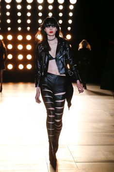 Among those of us who spend our dayslooking at runways,the recent incarnation of Saint Laurent, with controversial designer Hedi Slimane at the helm, is a really love-it-or-hate-itaffair. I, for one, have been apathetic about it at best. I don't disagree with theranks who suggest most of