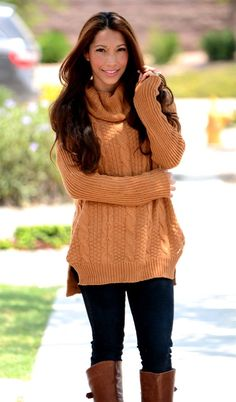 Turtle Neck Knit Sweater! | Shop handmade and boutique deals up to 80% off on Jane.com!