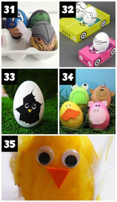 Easter Egg Characters and Critters