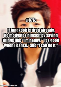 Dont push yourself too Kookie. We are worried  Bangtan Cute Facts