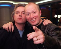 Rik Mayall 1958 - 2014 Guest House/Mayall & Edmondson Actors and comedians Rik Mayall (left) and Ade Edmondson, who star in the film, arrive for the celebrity screening of Guest House Paradiso, at the Warner Village Cinema in Leicester Square, London.