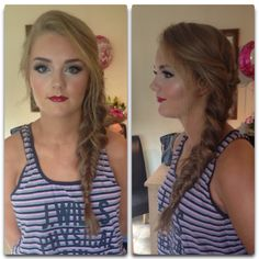 Hair Makeup, Make Up, Hair Styles, Beauty, Hair Plait Styles, Party Hairstyles, Makeup, Hairdos, Haircut Styles