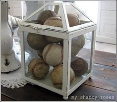 As the Rays welcome you back home for a 2013 season check out some cool baseball decor for the home!!