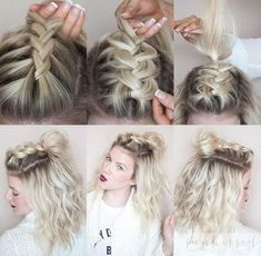 Half-Knot Braid - Messy Pinterest Braids We Love - Photos