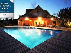 VILLA+CHARME+KARUHUAPI+****+PETIT+HAVRE+PISCINE+JACUZZI,+PLAGE+30+M,+1ERE+LIGNELocation de vacances à partir de Le Gosier @homeaway! #vacation #rental #travel #homeaway
