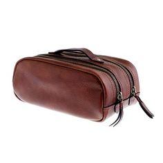 Montague leather dopp kit on J. Crew, $110