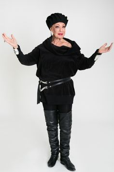 """4 Feisty Senior Style Stars School Us #refinery29  http://www.refinery29.com/mature-fashion#slide11  Lynn Dell, 81, owner of Off Broadway BoutiqueMy style in three words: """"Elegant, glamorous, and enjoyable.""""Who or what has been the biggest influence on the way you dress? """"I watched so many movies when I was a little girl — Lana Turner, Ginger Rogers, all the glamorous stars. They're who I looked up to. They're who I saw, but Diana Vreeland, to me, is a fashion image. She's wonderful. Anybody…"""