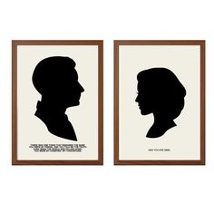 X-FILES   My Constant. My Touchstone Poster :  Agent Scully + Mulder  Modern Illustration TV Show Retro Art Wall Decor