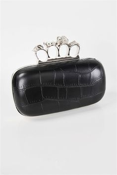 jeweled knuckle clutch.  dangerous and pretty.