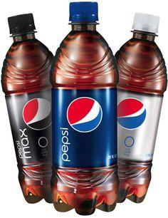 Pepsi bottels