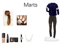 """""""Marts Style"""" by camillaknudsen on Polyvore featuring Yves Saint Laurent, Vans, NARS Cosmetics and Barbour"""