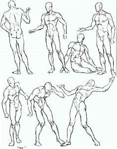 anime figure drawing - Google Search
