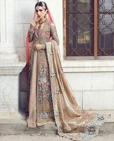 "4,650 Likes, 9 Comments - Pakistan Vogue (@pakistanvogue) on Instagram: ""Saira Shakira Summer 2017 Couture #pakistani #summer #pakistanvogue #couture #sairashakira…"""