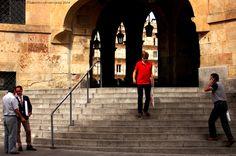 Plaza Mayor & People, Salamanca by Pont de Llum Films on 500px