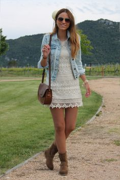 22 Ways How To Wear Denim Jacket For A Stylish Look ‹ ALL FOR FASHION DESIGN