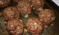 INCREDIBLE BAKED MEATBALLS – Land Of Recipes