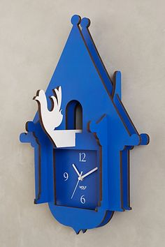 Jigsaw Puzzle Clock - anthropologie.com #anthrofave